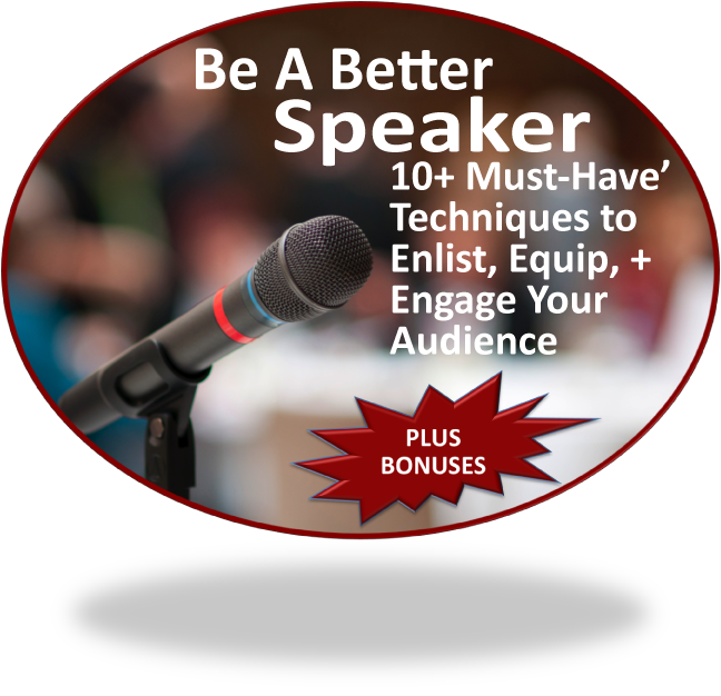 how to become a better speaker in general