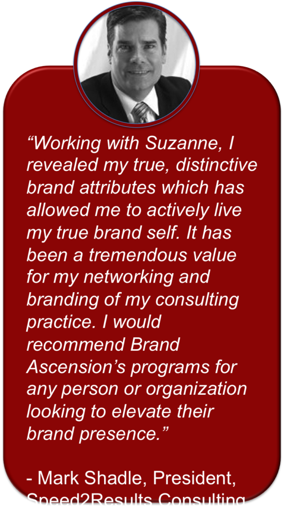 Personal Brand Breakthrough Session Testimonial